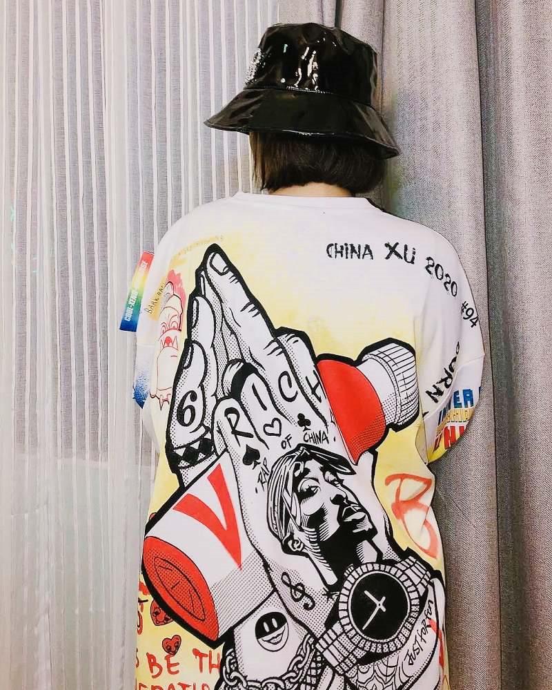 リバティグラフィティロングTシャツの画像5